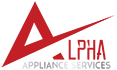 alpha appliance services logo