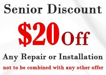 20 Dollar Off Senior Discount