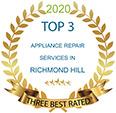 three best rated appliancerepair services richmond hill 2020
